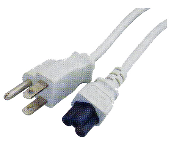 Laptop AC Power Cord - 6 ft.