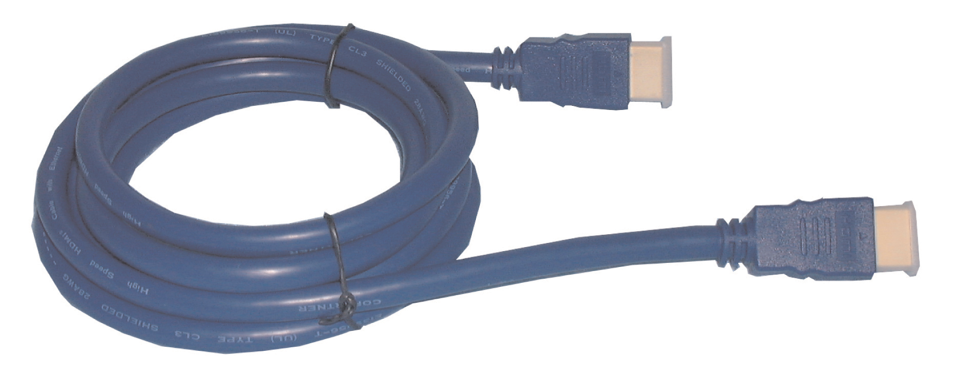 HDMI High Speed w/Ethernet 28 AWG Cable 15'